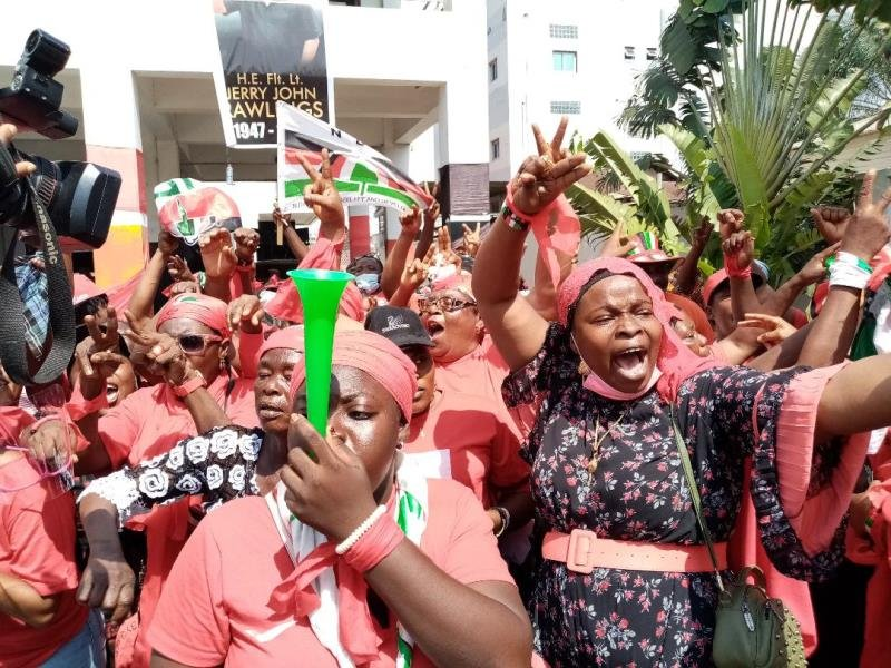 NDC Women's Wing embarks on demonstration