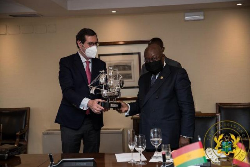 Your investments are secure in Ghana - Akufo-Addo tells Spanish investors