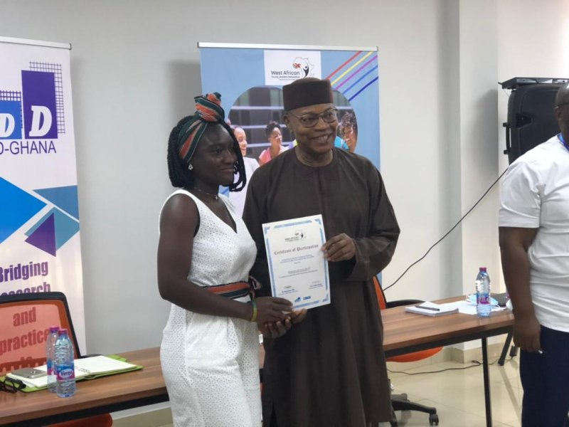 Dr Chambas urges CDD-Ghana's Fellowship cohorts to help tackle Africa's challenges