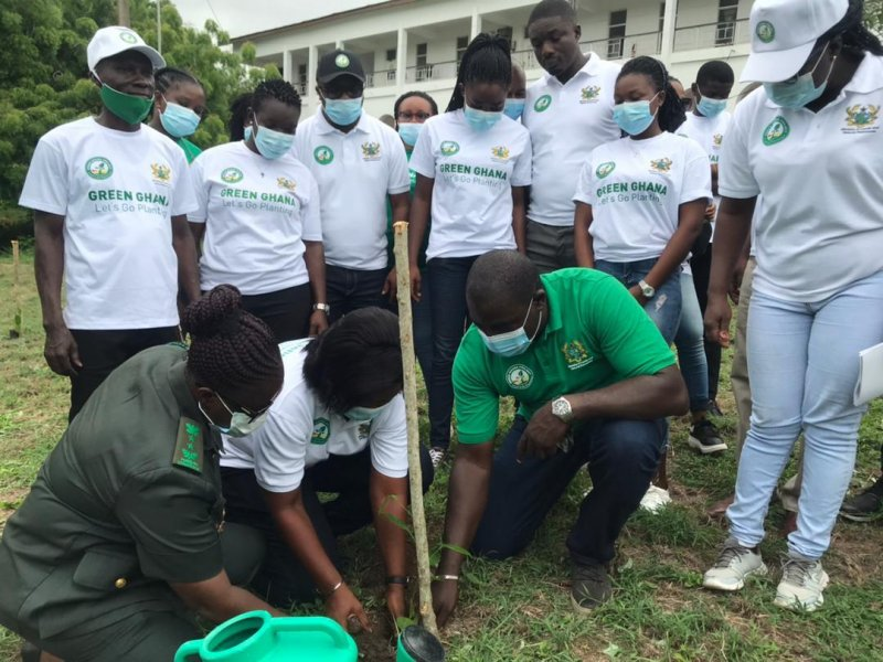 UCC plants 80,000 trees to support Green Ghana Day
