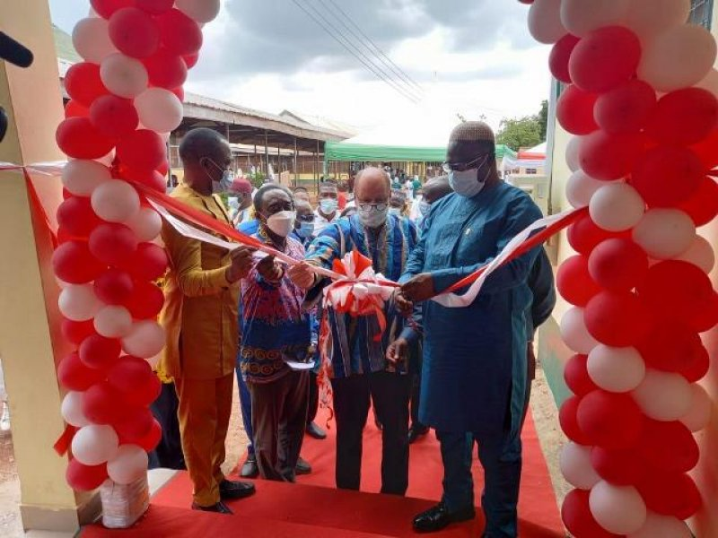 Tamale Central Hospital gets new Eye Clinic
