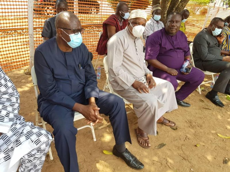 NDC Chairman commiserates with family of late Alhaji Agbeve