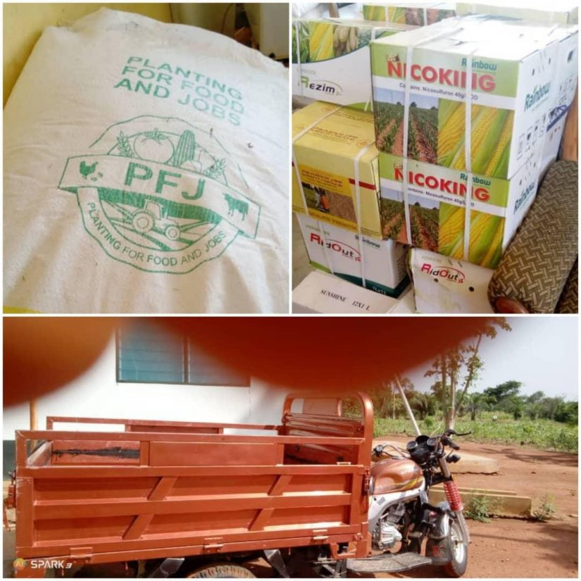 Immigration Officers Intercept Smuggled Fertilizers At Atanve
